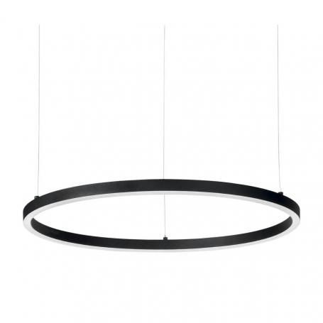 Подвесной светодиодный светильник Ideal Lux Oracle Slim D70 Nero