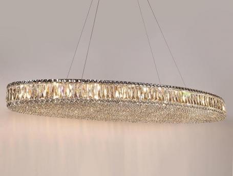 Подвесной светильник Newport 8468+14/S chrome М0064677