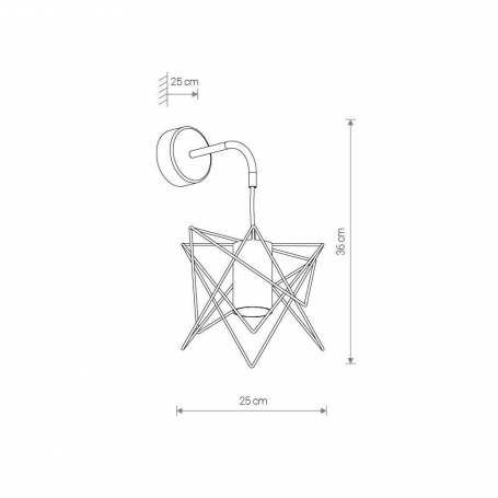 Бра Loft IT Stick 10011BK