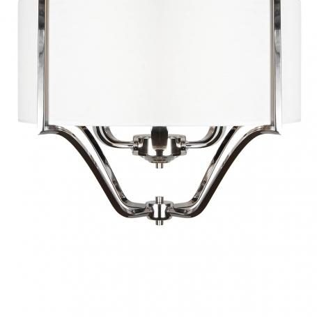 Подвесная люстра iLamp Divole P2442-6 Nickel