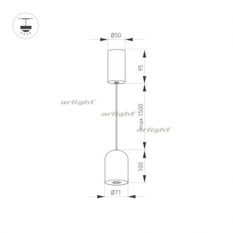 Подвесной светильник ELEMENTA 032777