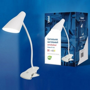 Настольная лампа (UL-00004465) Uniel TLD-563 White/LED/360Lm/4500K/Dimmer