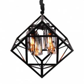 Подвесной светильник Brutte LDP 11339-4 BK