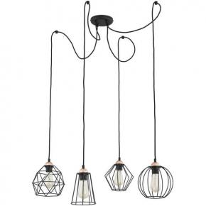 Интерьерная настольная лампа Fabi LDT 5531 CHR+WT