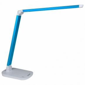 Настольная лампа (10084) Uniel TLD-521 Blue/LED/800Lm/5000K/Dimmer