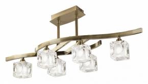 Потолочная люстра Mantra Cuadrax Antique Brass 0990