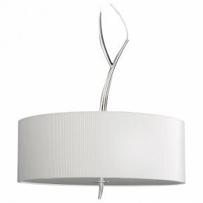 Подвесной светильник Mantra Eve Chrome - Cream Shade 1133