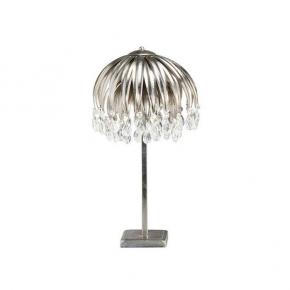 Интерьерная настольная лампа AX 49 silver