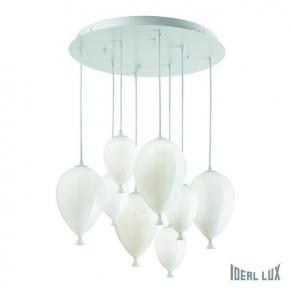 Подвесная люстра Ideal Lux Clown SP8 Bianco