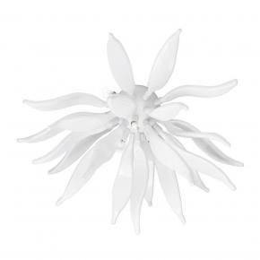 Потолочный светильник Ideal Lux Leaves PL6 Bianco