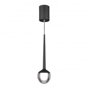 Подвесной светодиодный светильник Elektrostandard DLS028 6W 4200K черный 4690389149023