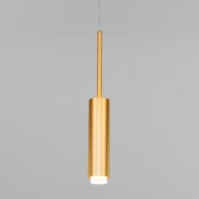 Подвесной светодиодный светильник Eurosvet Dante 50203/1 матовое золото
