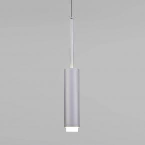 Подвесной светодиодный светильник Eurosvet Dante 50203/1 матовое серебро