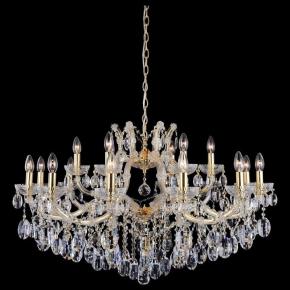 Подвесная люстра Crystal Lux Hollywood SP12+6 Gold