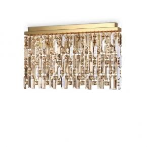 Потолочный светильник Ideal Lux Elisir PL6 Ottone