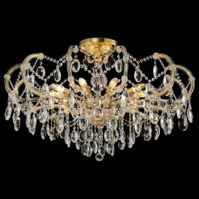 Подвесная люстра Crystal Lux Hollywood SP-PL10 Gold D1000