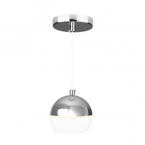 Подвесной светодиодный светильник Elektrostandard DLS023 9W 4200K белый/хром 4690389149139