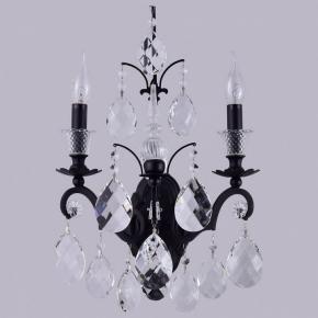 Бра Crystal Lux Magnifico AP2 BLACK/TRANSPARENT