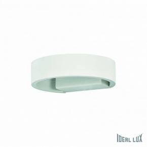 Настенный светодиодный светильник Ideal Lux Zed AP1 Round Bianco