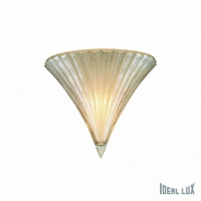 Настенный светильник Ideal Lux Santa AP1 Small Oro