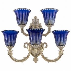 Бра Bohemia Ivele 7109B16/3+2/210 GW P2 U Clear-Blue/H-1K