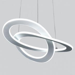 Подвесной светодиодный светильник Eurosvet Smart Onde 90217/1 белый