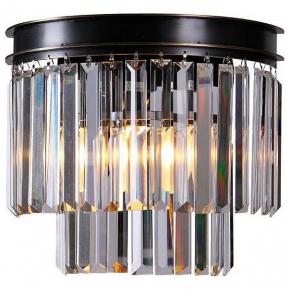 Настенный светильник 31100 31101/A black+gold