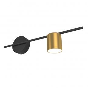 Бра Elektrostandard Acru LED черный/золото MRL LED 1019 4690389149894