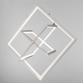 Подвесной светодиодный светильник Eurosvet Maya 90224/3 матовое серебро