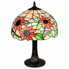 Настольная лампа Тиффани Omnilux OML-80704-01