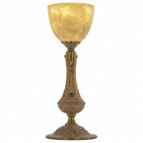 Настольная лампа Bohemia Ivele 71100L/15 GW P1 Rose