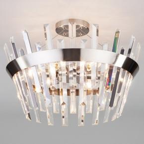 Светильник на штанге TK Lighting Steccato 10111/5 сатин-никель/прозрачный