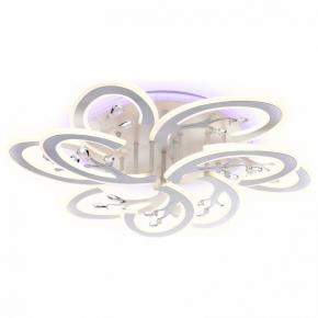 Накладной светильник Ambrella Original 2 FA513/6+3 WH белый 216W 680*650*120 (ПДУ РАДИО 2.4G)