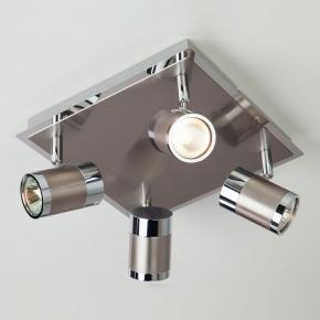 Потолочный светильник Eurosvet 20058/4 перламутровый сатин