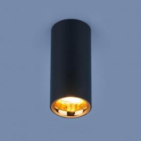 Потолочный светодиодный светильник Elektrostandard DLR030 12W 4200K черный матовый 4690389122033