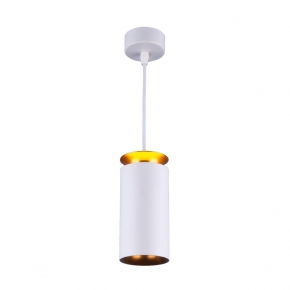 Подвесной светодиодный светильник Elektrostandard DLS021 9+4W 4200К белый матовый/золото 4690389144271