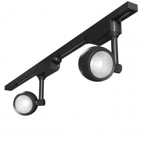 Трековый светодиодный светильник Elektrostandard Oriol черный 12W 4200K LTB48 4690389148071