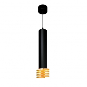 Подвесной светильник Elektrostandard DLN103 GU10 черный/золото 4690389148811