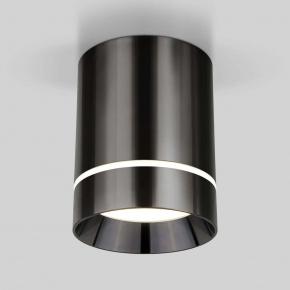 Потолочный светодиодный светильник Elektrostandard Topper DLR021 черный жемчуг 4690389167621