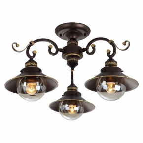 Потолочная люстра Arte Lamp Grazioso A4577PL-3CK