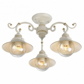 Потолочная люстра Arte Lamp Grazioso A4577PL-3WG