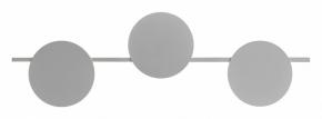 Настенный светодиодный светильник Mantra Eris 7300