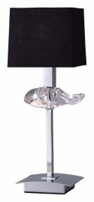 Настольная лампа Mantra Akira Black Shade 0789