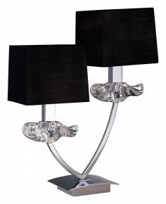 Настольная лампа Mantra Akira Black Shade 0790