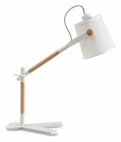 Настольная офисная лампа Mantra Nordica E27 - Black 4922