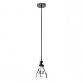 Подвесной светильник ЭРА Loft PL10 BK