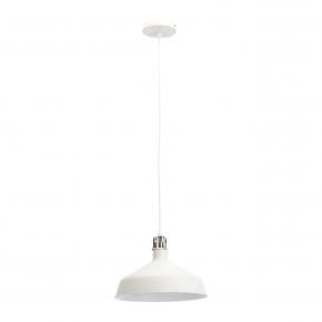 Подвесной светильник ЭРА Loft PL2 WH/SN