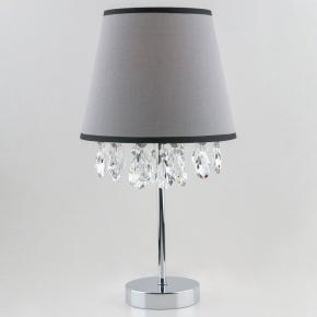 Настольная лампа Eurosvet Opera 01036/1 хром/прозрачный хрусталь Strotskis
