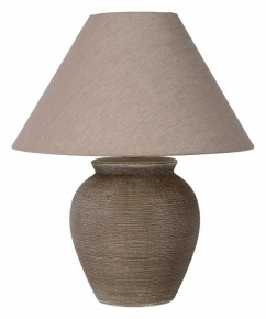 Настольная лампа керамика Lucide Ramzi 47507/81/43