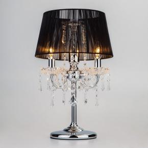 Интерьерная настольная лампа 2045 2045/3T хром/черный настольная лампа